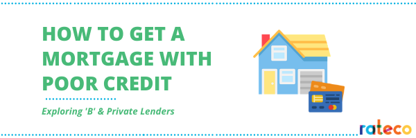 How To Get a Mortgage With Poor Credit blog banner